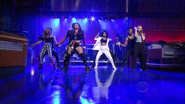 "David Letterman - Little Mix: ""Move"""