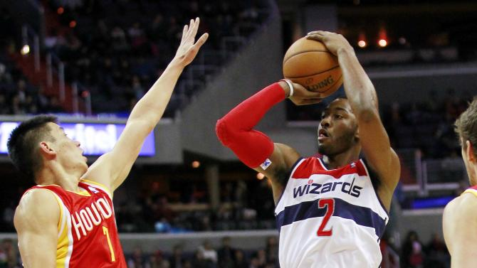 NBA: Houston Rockets at Washington Wizards