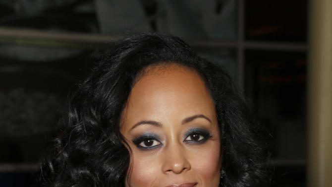 """Essence Atkins attends the premiere of """"A Haunted House"""" at the Arclight Hollywood on Thursday, Jan. 3, 2013, in Los Angeles. (Photo by Todd Williamson/Invision/AP)"""