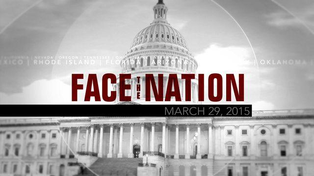 Open: This is Face the Nation, March 29