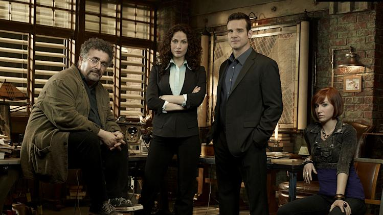 "The cast of ""Warehouse 13."""