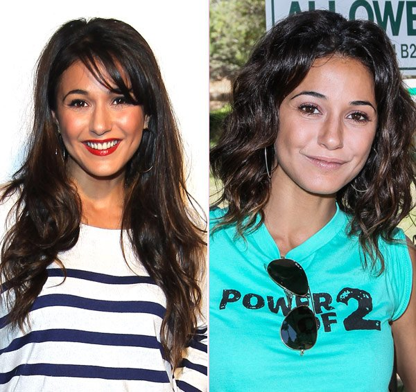 Emmanuelle Chriqui's New Tousled Bob: Do You Like The Look? Sound Off