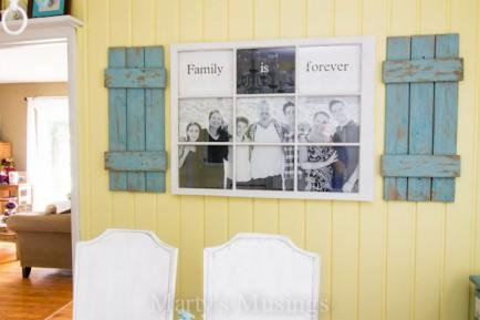 Old Window Photo Frame