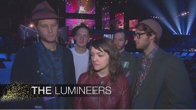 55th GRAMMY Awards - The Lumineers …
