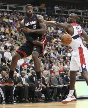 Webster, Singleton lead Wizards over Heat 101-94