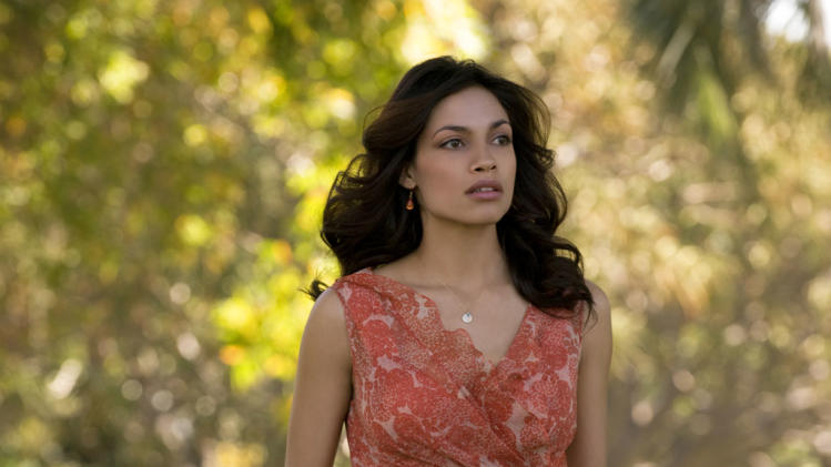 Rosario Dawson Seven Pounds Production Stills Columbia 2008