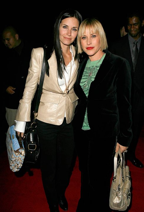 "Courteney Cox-Arquette and Patricia Arquette at ""The Tripper"" Los Angeles Premiere."