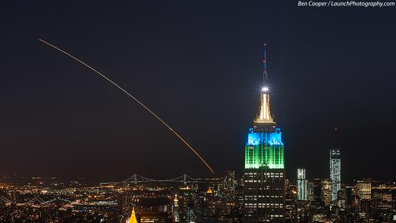 Nighttime Rocket Launch Tuesday Visible from US East Coast