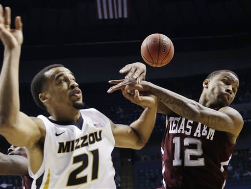 Missouri defeats cold-shooting Texas A&M 62-50