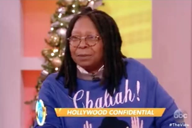 'The View's' Whoopi Goldberg Says Sony's Amy Pascal's 'Black Baby' Comment Is 'Really Dumb' (Video)