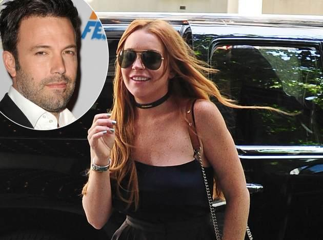 Lindsay Lohan / Ben Affleck -- Getty Images