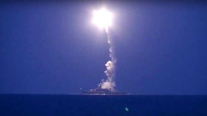 4 Russian Cruise Missiles Crash in Iran En Route to Syria