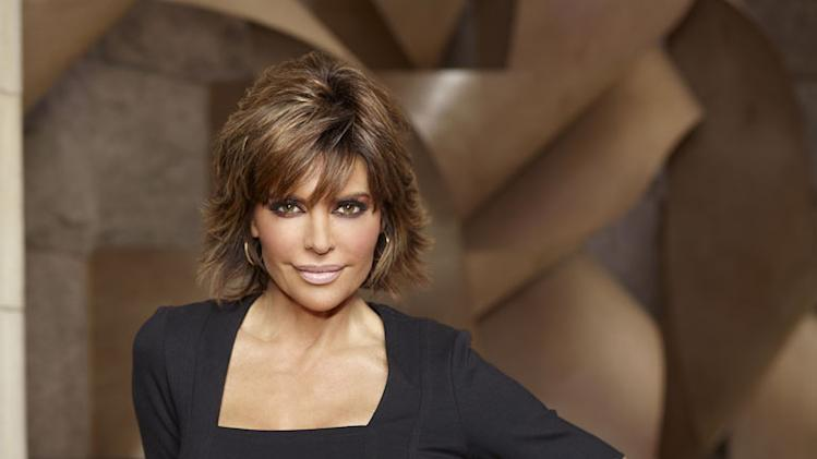 "Lisa Rinna competes in ""The Celebrity Apprentice."""
