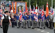 Orange Order March On 'Glorious Twelfth'