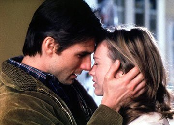 Tom Cruise and Renee Zellweger in TriStar Pictures' Jerry Maguire