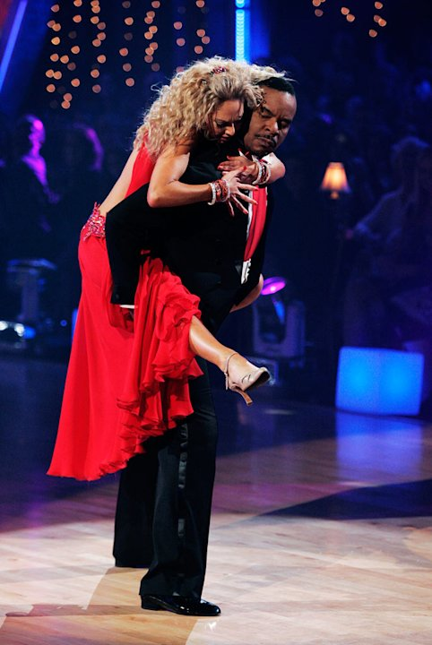 David Alan Grier and Kym Johnson perform the Viennese Waltz to &quot;I Put a Spell on You&quot; by Nina Simone on &quot;Dancing with the Stars.&quot; 