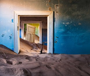 (Photo: Michael Toye) Kolmanskop Diamond Camp