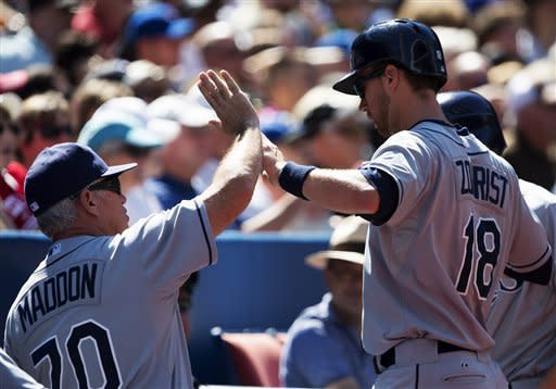 Joyce homers as Rays edge Jays 5-4