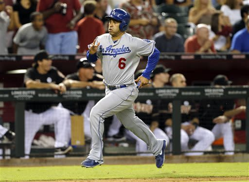 Dodgers beat Diamondbacks 7-5 in 14 innings