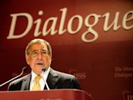 US Secretary of Defense Leon Panetta speaks during the International Institute for Strategic Studies (IISS) 11th Asia Security Summit in Singapore, on June 2. The US will shift the majority of its naval fleet to the Pacific by 2020 as part of a new strategic focus on Asia, Panetta announced