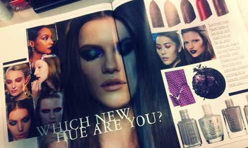 In Today's Issue... We Talk You Through Next Season's Key Beauty Colours, Don't Miss It!