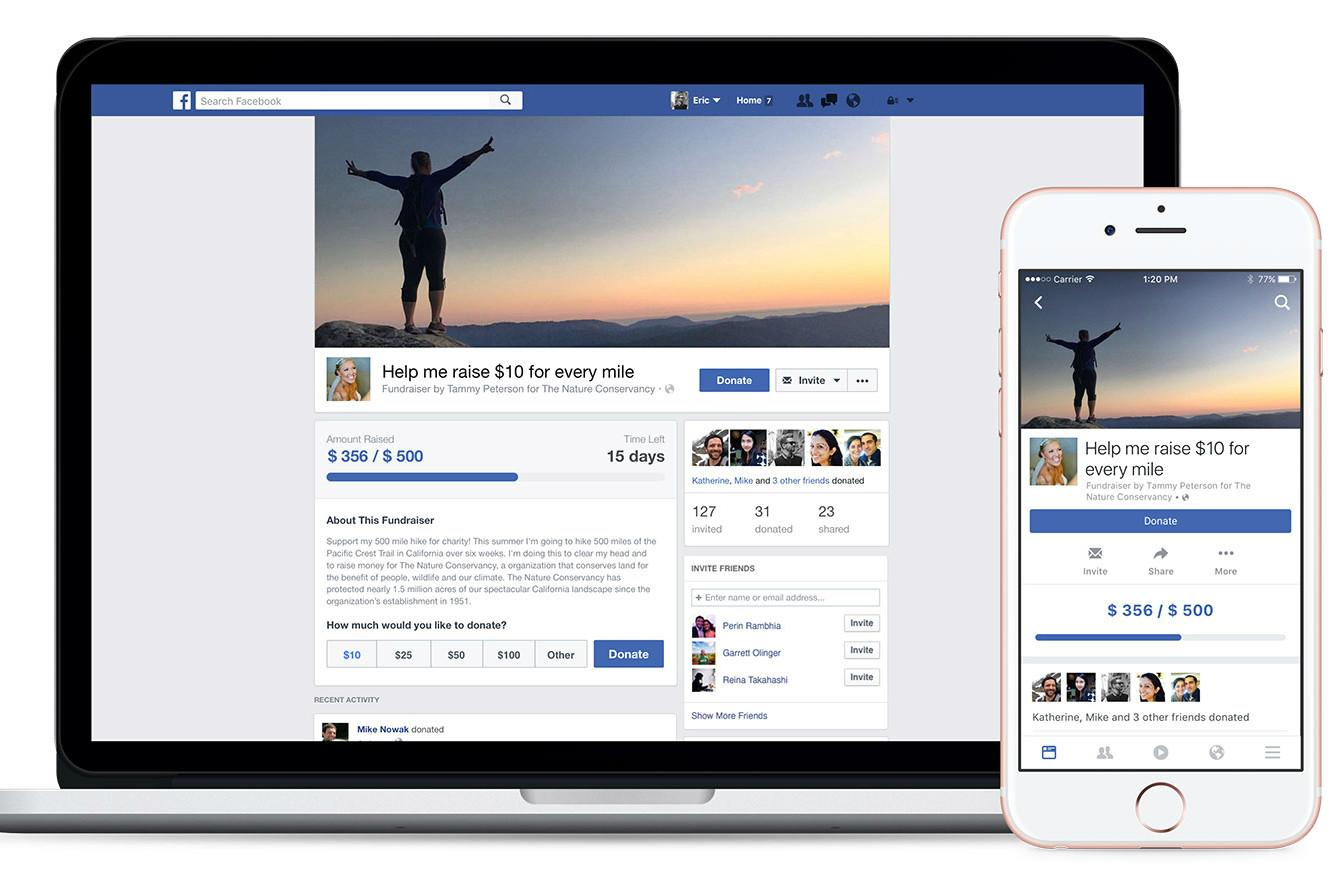 Don't just like: Give. Facebook flips the switch on donate button for nonprofits