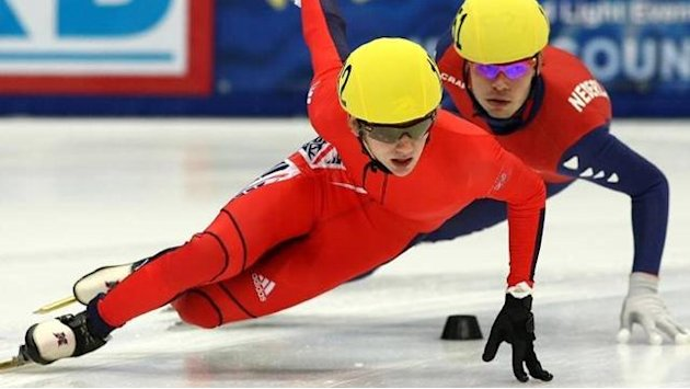 Speed Skating - Whelbourne wants relay success at World Championships