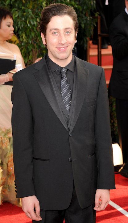 Simon Helberg th Annual Golden Globe Awards Arrivals