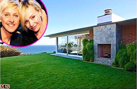 Ellen DeGeneres, Portia de Rossi Sell Home They Bought From Brad Pitt for $13 Million