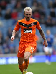 Johnny Russell was unable to spark Dundee United into life
