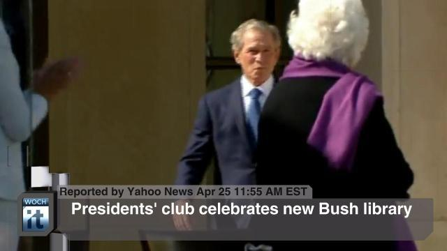 Barack Obama News - George W. Bush, Alex Wong, Sasha