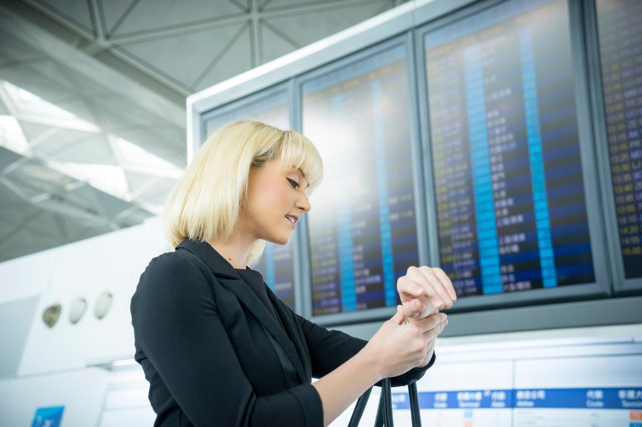 Don't Miss that Flight! Tips for Travelers Who Cut it Close