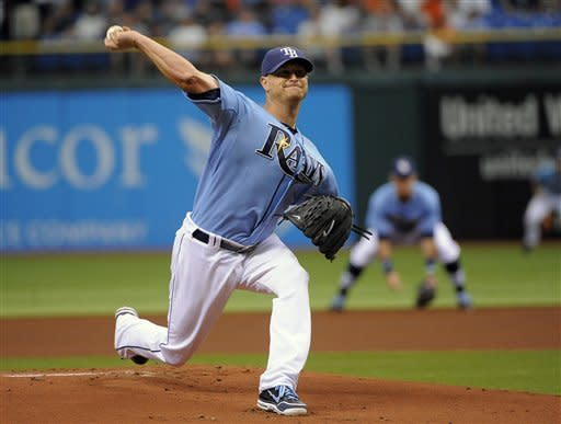 Smyly pitches 5 solid innings, Tigers beat Rays