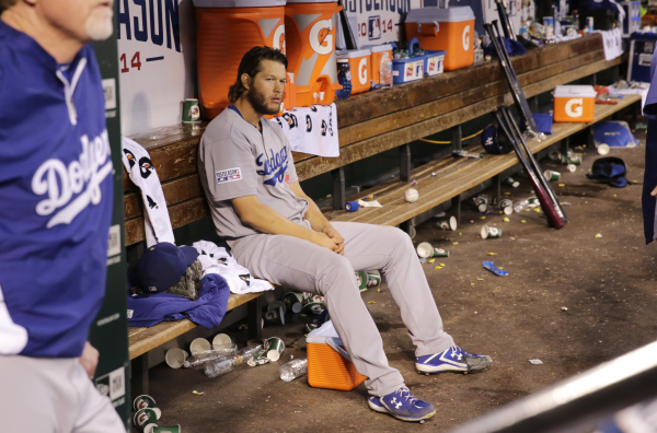 How an at-bat tailor-made for Clayton Kershaw blew the $235M Dodgers' year - Yahoo Sports