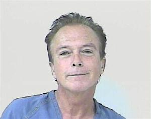 Photograph of Entertainer David Cassidy taken after his arrest by the Florida Highway Patrol