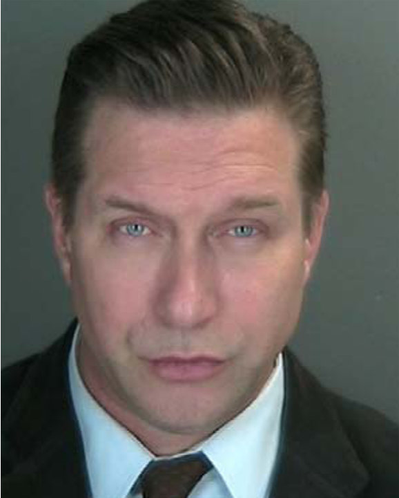 Actor Baldwin is seen in this undated police booking photo supplied by Rockland County District Attorney's office