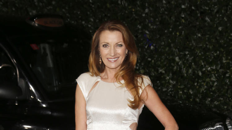 Jane Seymour attends the Topshop Topman LA Opening Party At Cecconi's in Los Angeles, on Wednesday, Feb. 13, 2013 in Los Angeles. (Photo by Todd Williamson/Invision for/AP)