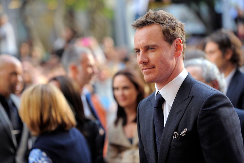 "Michael Fassbender arrives at the premiere for ""12 Years a Slave"" on day 2 of the Toronto International Film Festival at The Princess of Wales Theatre on Friday, Sept. 6, 2013, in Toronto. (Photo by Chris Pizzelloi/Invision/AP)"