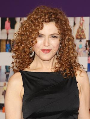 """FILE - In this June 7, 2010 file photo, actress Bernadette Peters attends the 2010 CFDA Fashion Awards in New York.  Peters returns to Broadway in a revival of Sondheim's 1971 musical """"Follies."""" It is her sixth Sondheim musical. (AP Photo/Peter Kramer, file)"""