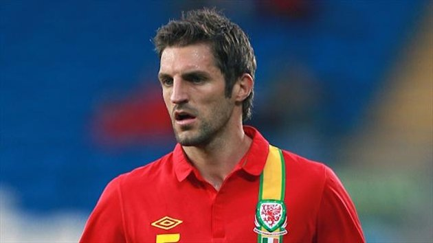 Sam Ricketts won his 50th cap in Wales' defeat to Macedonia