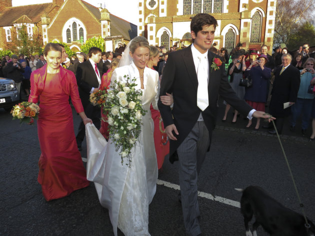 Alastair Cook And Alice Hunt Wedding