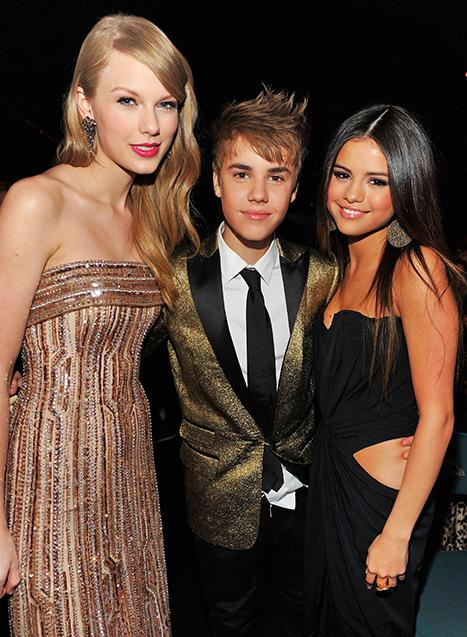Justin Bieber, Selena Gomez, Taylor Swift Sitting Together at Billboard Awards
