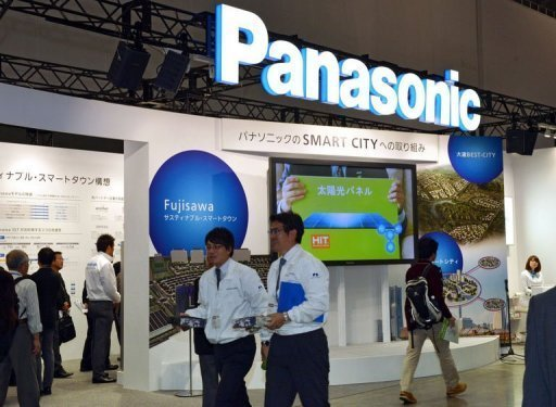 &lt;p&gt;Japan&#39;s consumer electronics giant Panasonic displays its latest technology for a smart city project at an exhibition in Yokohama, suburban Tokyo. Shares in Panasonic dived nearly 20 percent Thursday after the Japanese consumer electronics giant warned of a mammoth $9.6 billion net loss for this fiscal year.&lt;/p&gt;