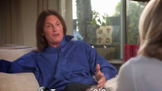 Bruce Jenner speaks with Diane Sawyer on ABC's 'Bruce Jenner: The Interview' -- ABC