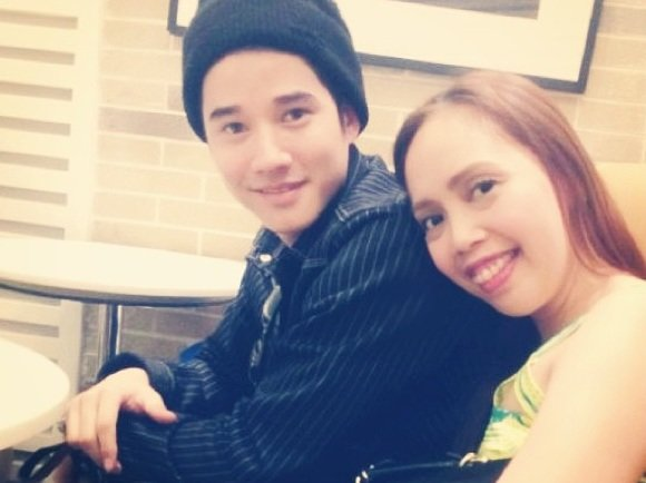 Mario Maurer and Kakai Bautista (Screen grab from Kakai Bautista's Instagram account ilovekaye)
