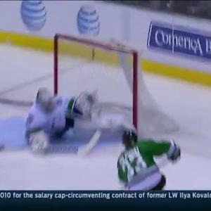 Whitney finds Goligoski for the goal on Lack