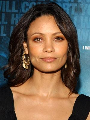 Thandie Newton at the Beverly Hills premiere of Lions Gate Films' Crash
