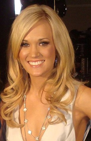 Carrie Underwood has also acted on television shows.