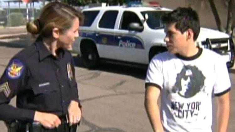 Police Officer Gives Working Teenager Bike for Commute