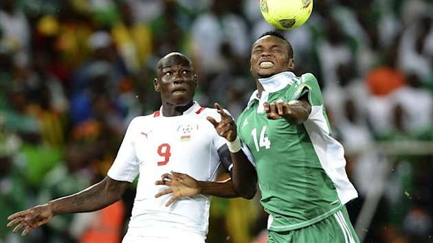 FOOTBALL CAN 2013 Nigeria-Burkina Faso (Dagano et Oboabona)